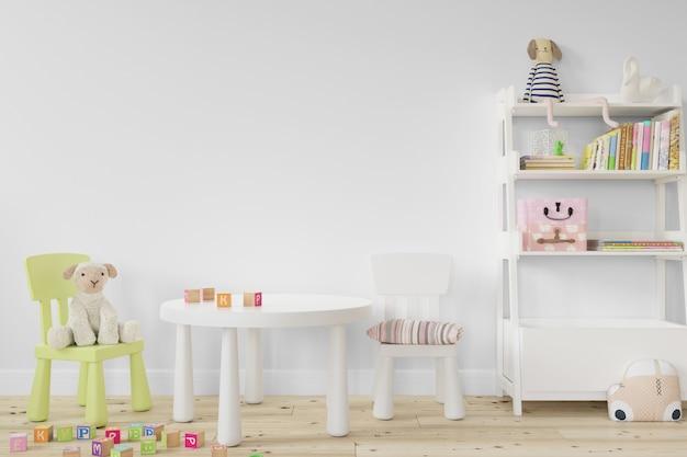 Design degli interni per bambini Psd Gratuite