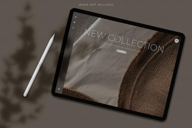 Digitaal tabletschermmodel Premium Psd