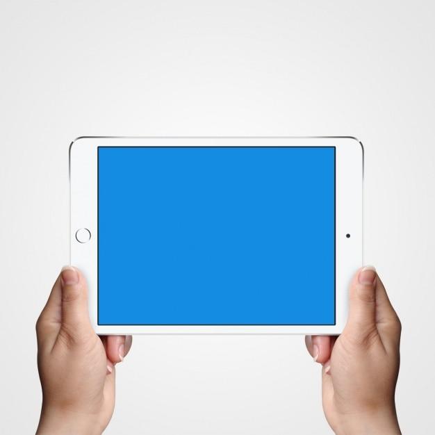 Diseño de mock up de tableta PSD gratuito