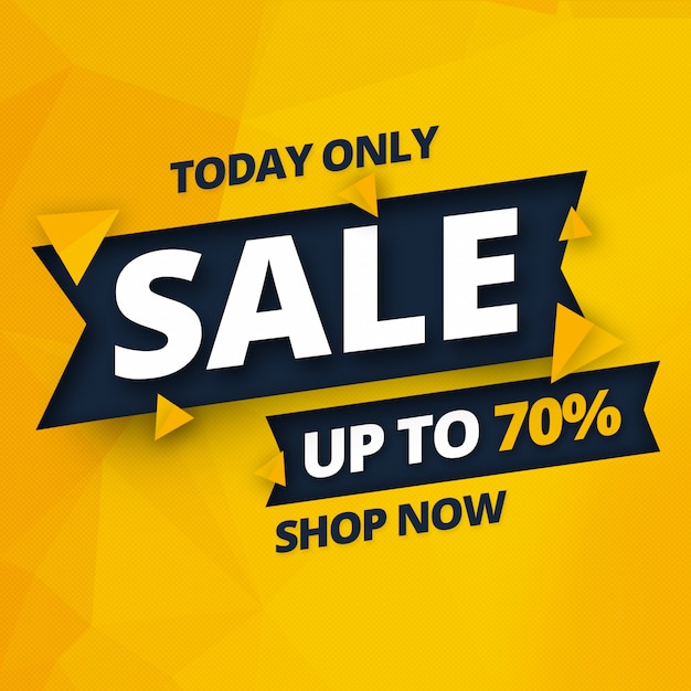 Distintivo banner vendita psd Psd Premium