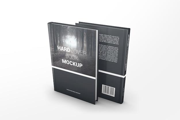 Due mockup di libri di prospettiva Psd Premium