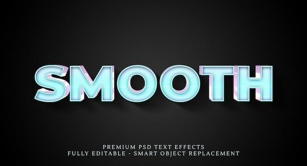 Effetto testo liscio effetto psd, effetti testo psd Psd Premium