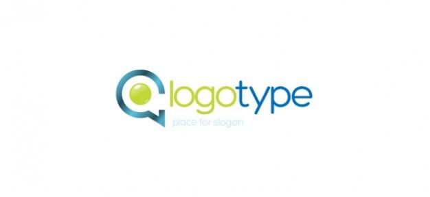 Empresa de comunicaci n vector logo plantilla descargar for Empresa logos