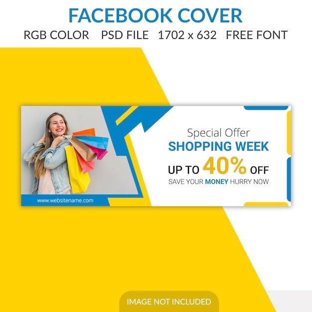 Facebook omslag Premium Psd