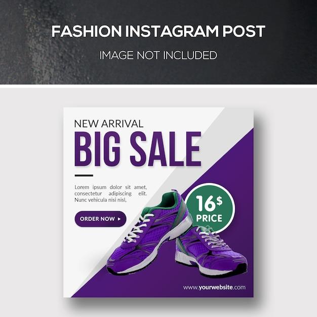 Fashion instagram post Psd Premium