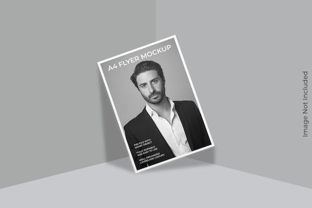 Flyer brochure mockup geïsoleerd Premium Psd