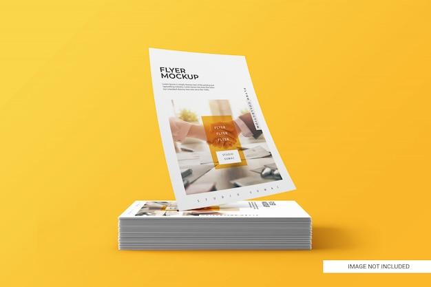Flyer mockup creativo Psd Premium
