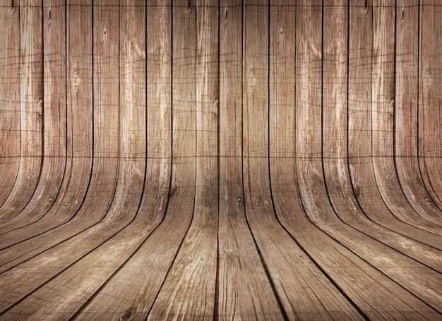Fondo de madera realista Psd Gratis