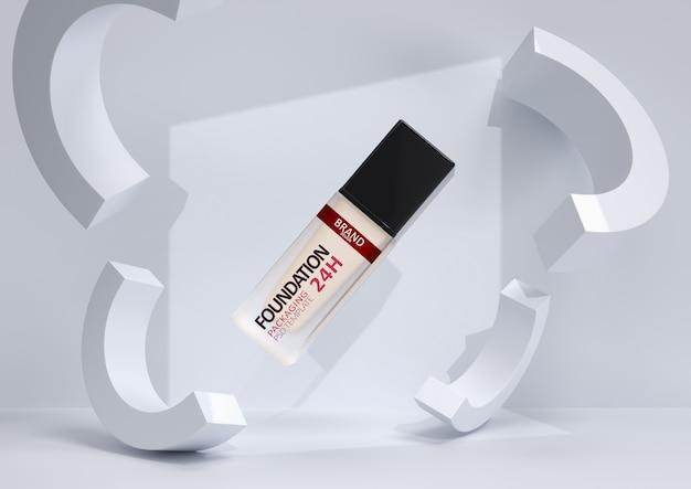 Foundation make-up in elegante verpakking Premium Psd