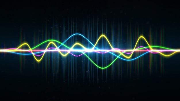 Frequentie audio muziek equalizer Premium Psd