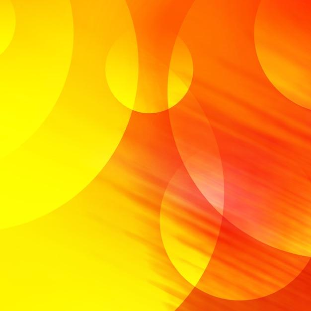 Gele en oranje achtergrond Premium Psd