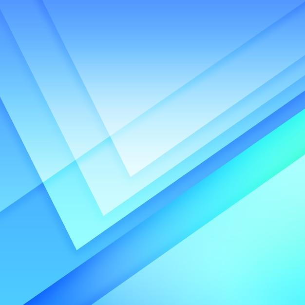 Geometrische blauwe achtergrond Premium Psd