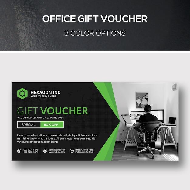 Geschenkbon Premium Psd