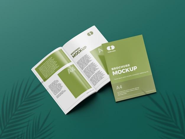 Geweldige brochure mockup Premium Psd