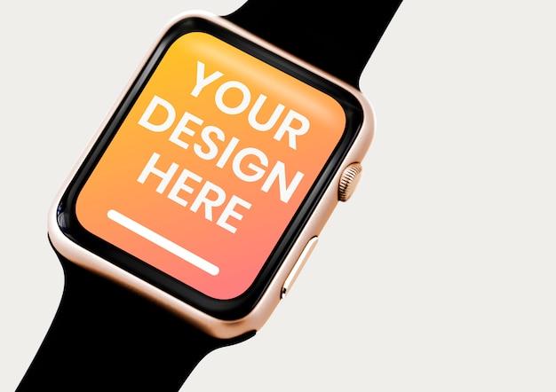 Gewoon smartwatch-scherm Premium Psd