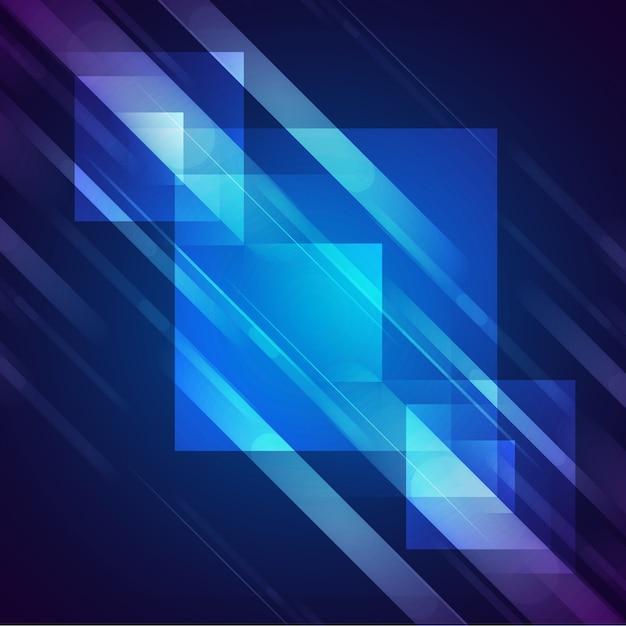 Glanzende vierkanten achtergrond ontwerp Gratis Psd