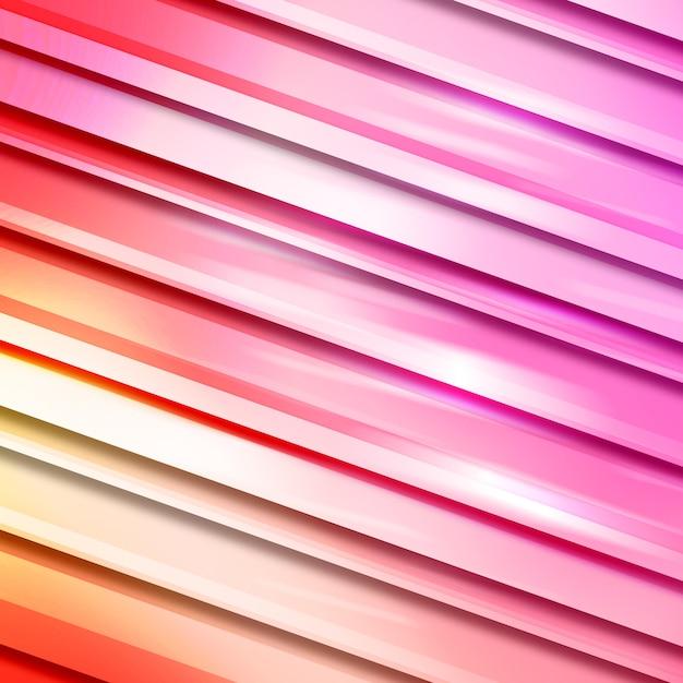 Gradient roze strepen achtergrond Gratis Psd