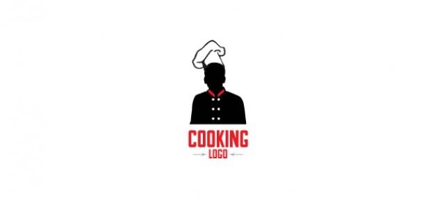 Gratis logo ontwerp sjabloon voor het koken Gratis Psd