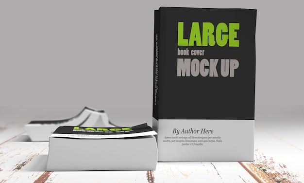 Grote softcover boekmodellen Premium Psd