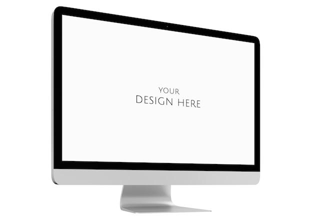 Imagen tridimensional de la computadora PSD Premium