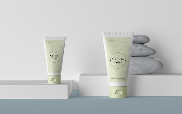 Imballaggio verde di prodotti cosmetici Psd Gratuite