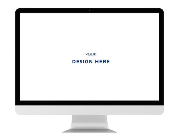 Immagine tridimensionale del computer Psd Premium