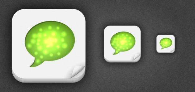 Iphone 512px de la aplicación de plantillas icono PSD gratuito