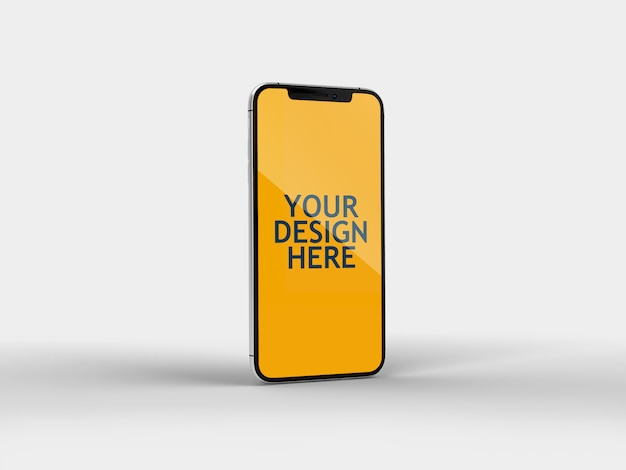 Iphone x mockup Premium Psd