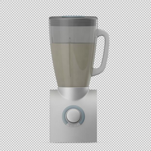 Isometrische blender 3d render Premium Psd