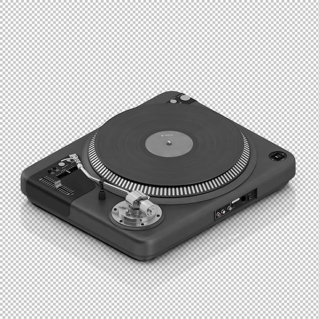 Isometrische dj-tool Premium Psd