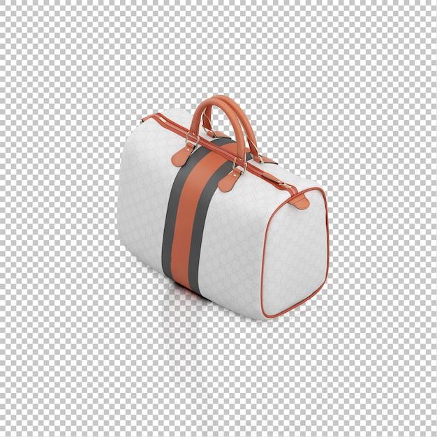 Isometrische koffer Premium Psd