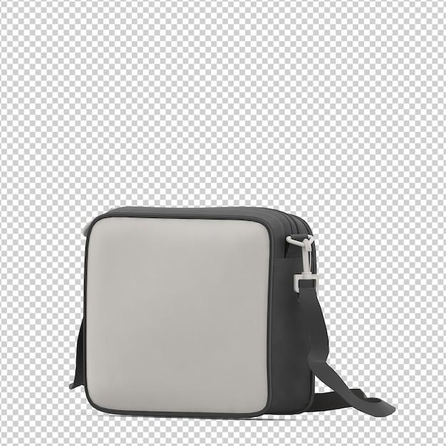 Isometrische laptoptas Premium Psd