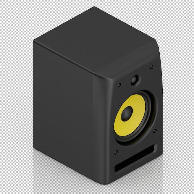 Isometrische luidspreker Premium Psd