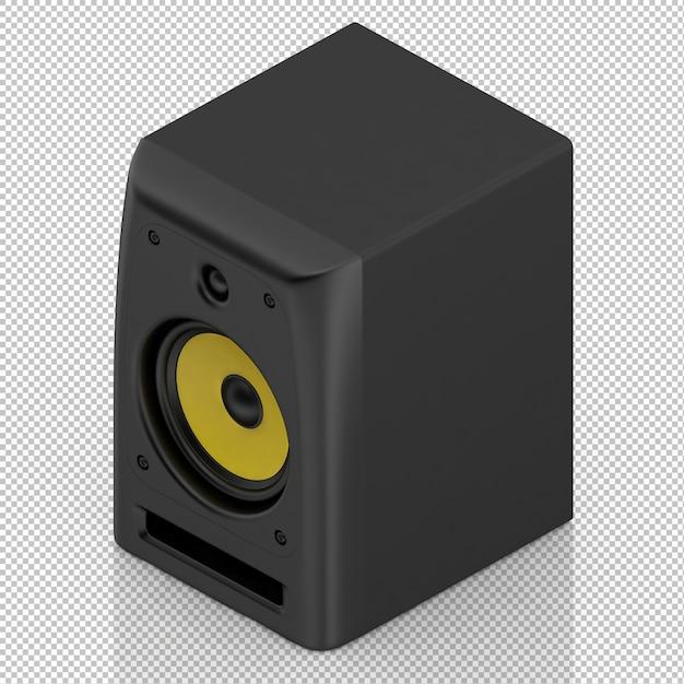 Isometrische luidsprekers Premium Psd