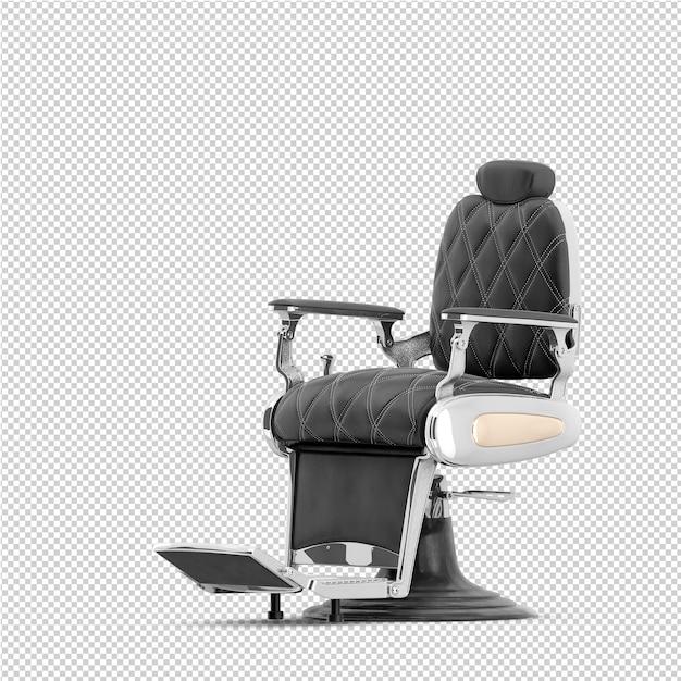 Isometrische schoonheid accessoires 3d geïsoleerd render Premium Psd