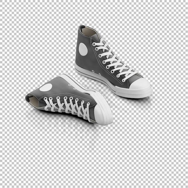 Isometrische sneakers Premium Psd