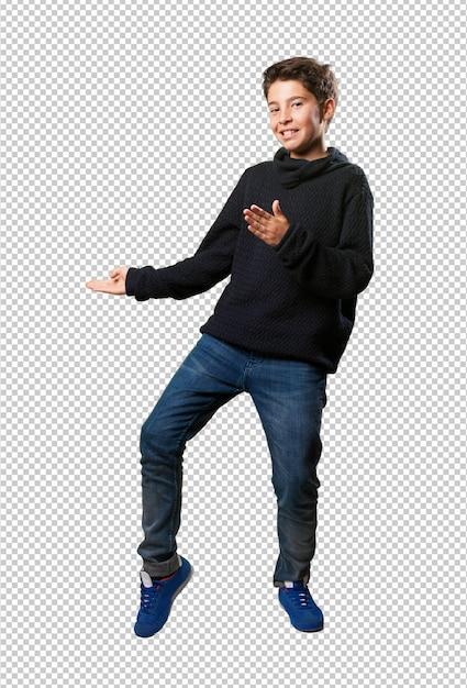 Jongetje dansen Premium Psd