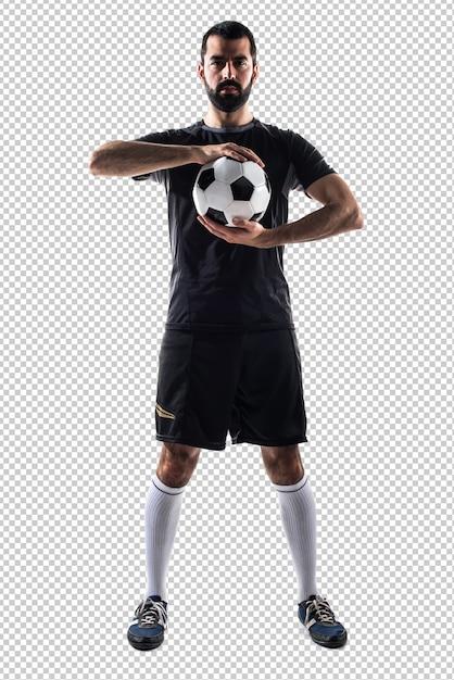 Jugador de fútbol PSD Premium