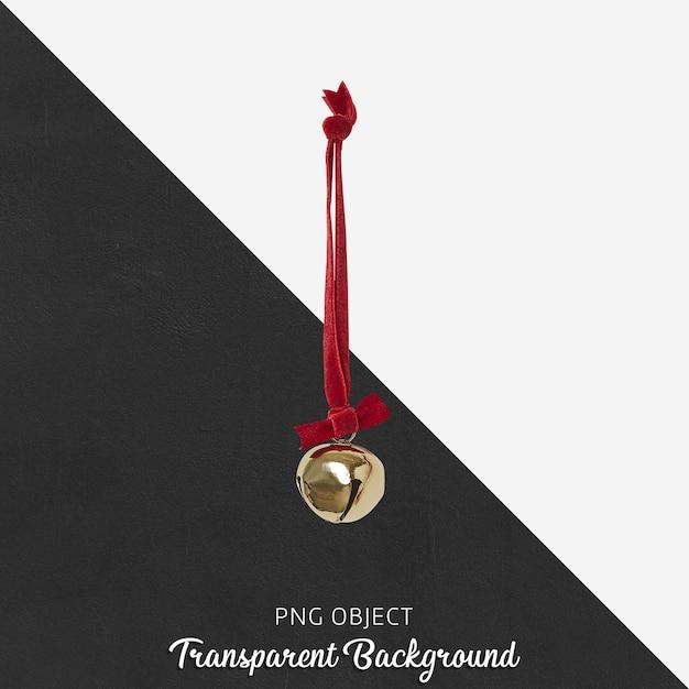 Kerst versiering op transparante achtergrond Premium Psd