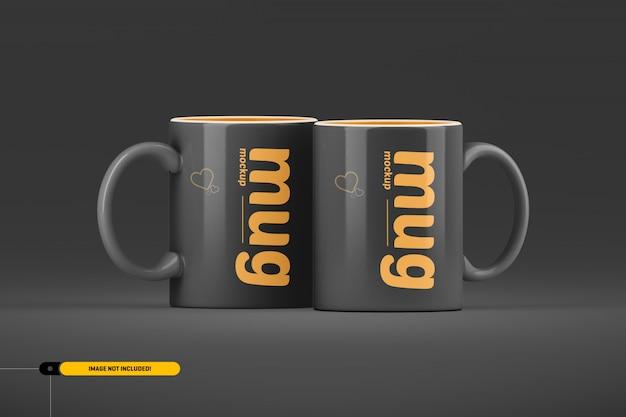 Koffiekop. mok mockup Premium Psd