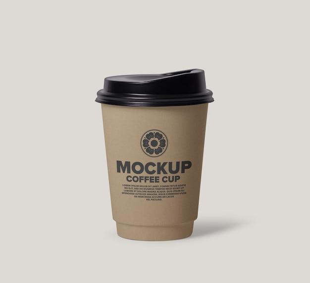Koffiekopje mockup ontwerp Premium Psd