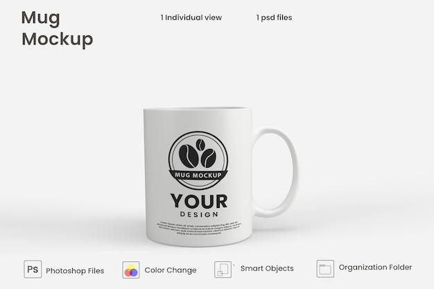 Koffiemok mockup Premium Psd