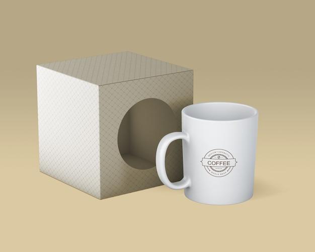 Koffiemokmodel Gratis Psd