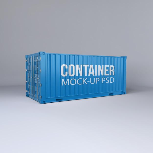 Ladingcontainermodel Premium Psd