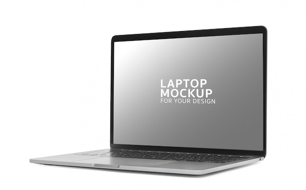 Laptop digitaal apparaat mockup ontwerp. Premium Psd