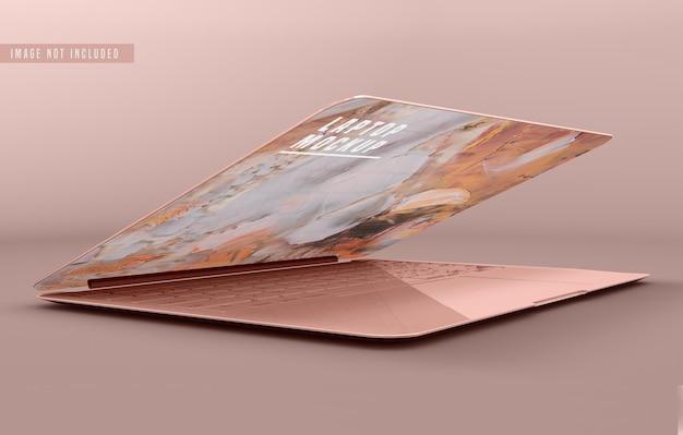 Laptop mockup design psd Gratis Psd