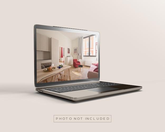 Laptop of notebookmodel Premium Psd
