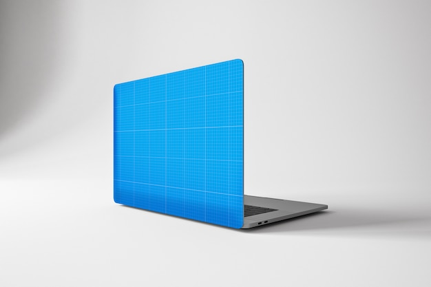 Laptop pro skin mockup Premium Psd