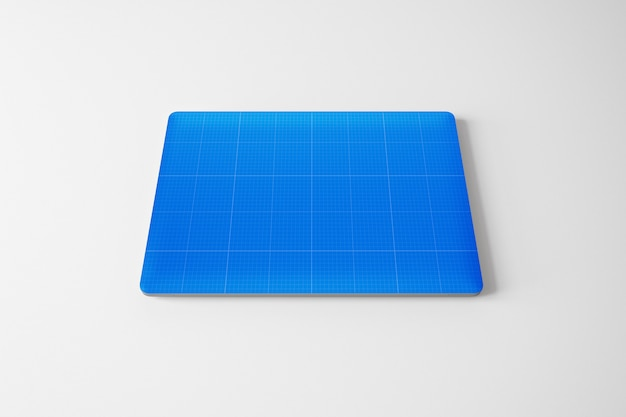 Laptop skin mockup Premium Psd