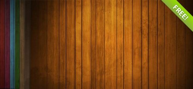 Libero in legno set di sfondo Psd Gratuite